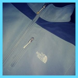 🆒The North Face blue/gray Jacket🆒Men'sLG